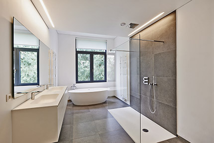 bathroom supply and design in glasgow