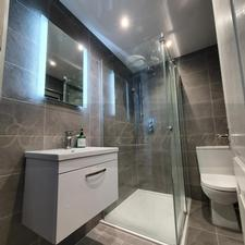 framless shower screen Glasgow bathroom design katana bathrooms